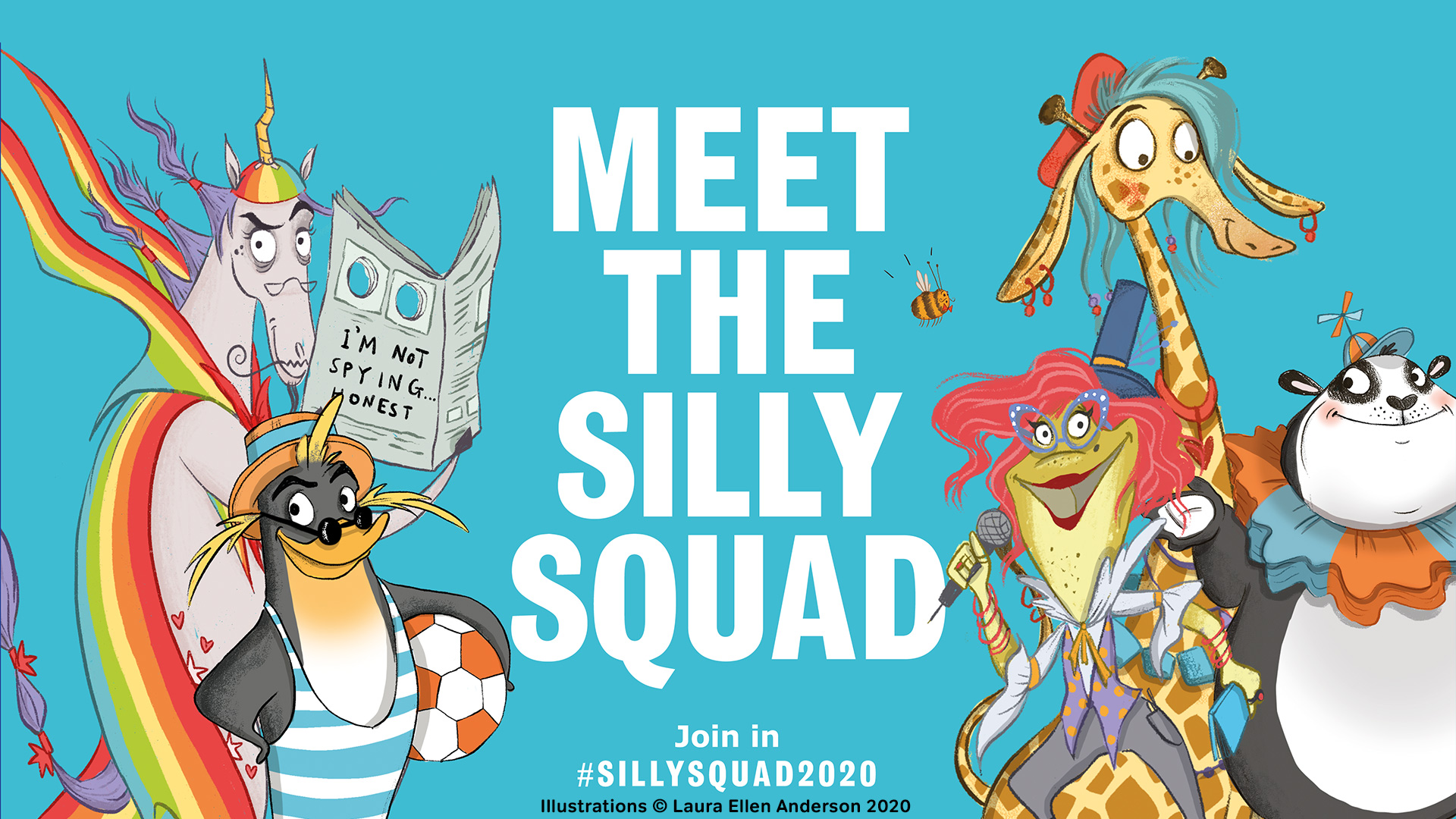 SILLY SQUAD SUMMER READING CHALLENGE FOR CHILDREN - Marketing ...