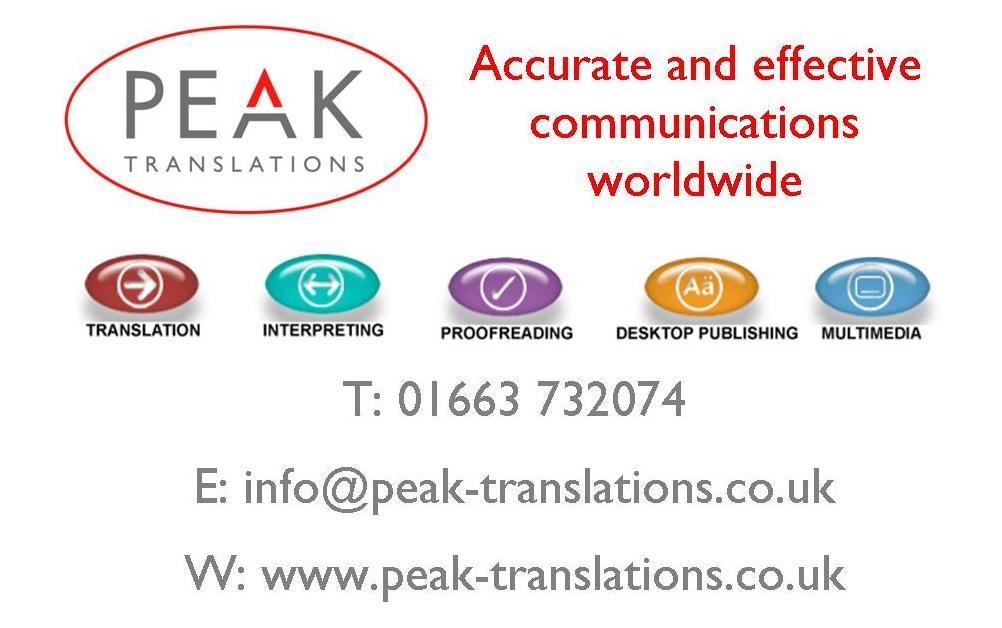 Peak Translations