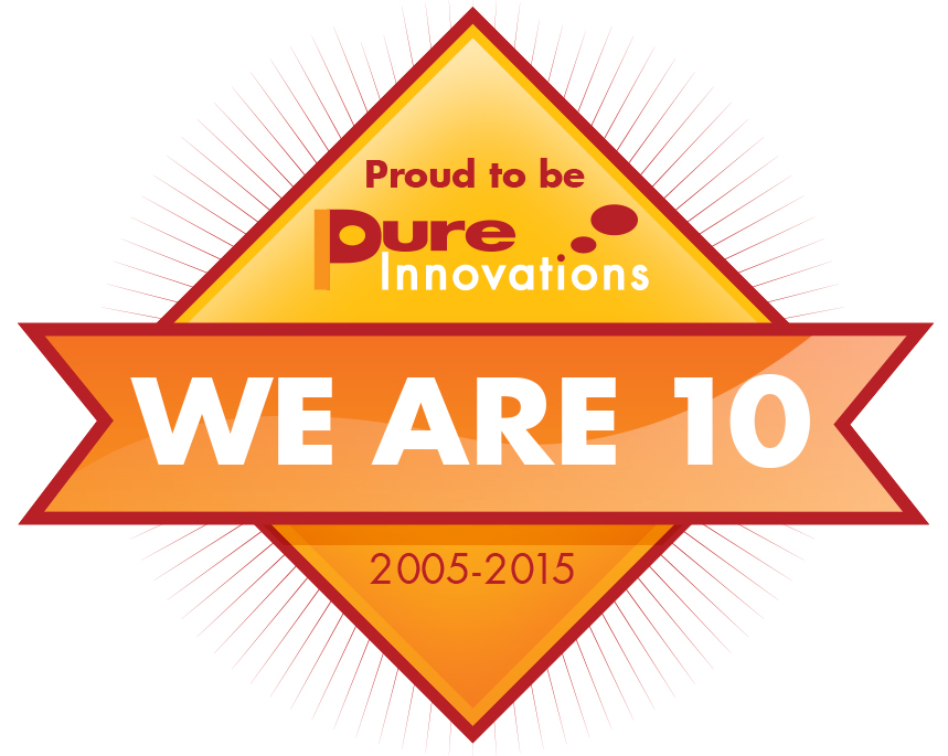 We are 10 Pure_2 logo