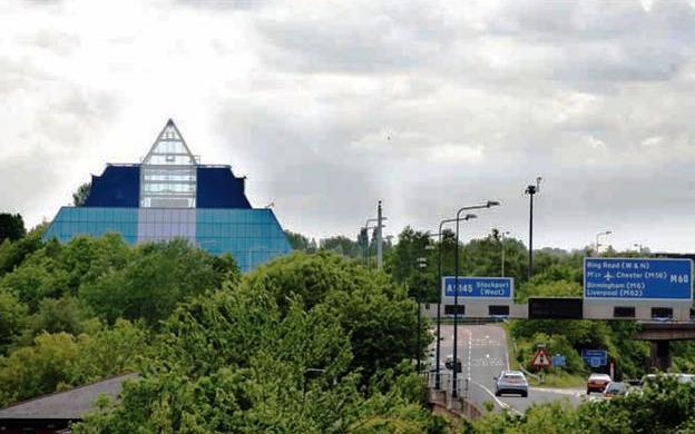 Junction 1 M60 Stockport in UK's top 10 congestion hotspots