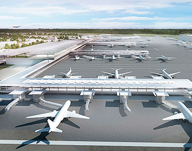Investment at Investment at Manchester Airport £1bn transformation
