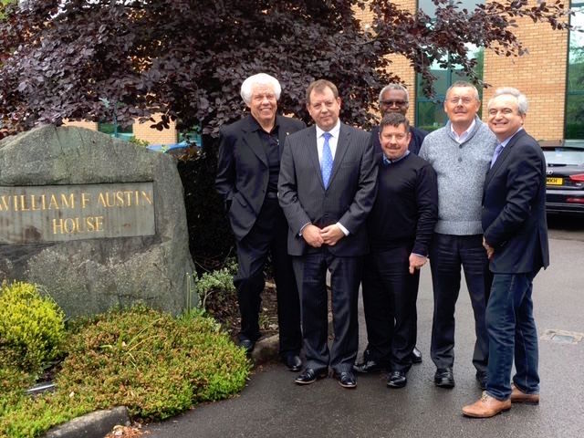 American CEO and Founder of Starkey visits Stockport's UK facility
