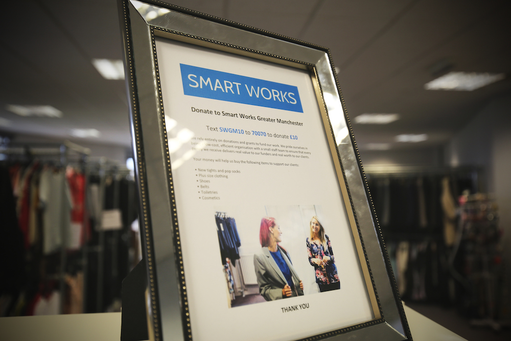pro-manchester Chair selects Smart Works as her Charity of the Year
