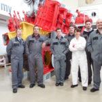 RFA vist to MAN Diesel & Turbo UK in Hazel Grove