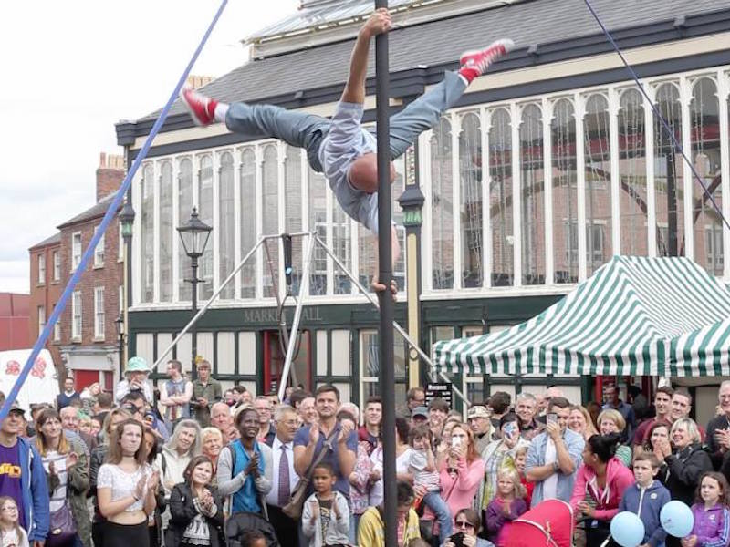 Orbit, Robinsons and Stockport Council backing the Stockport Old Town Fringe Festival