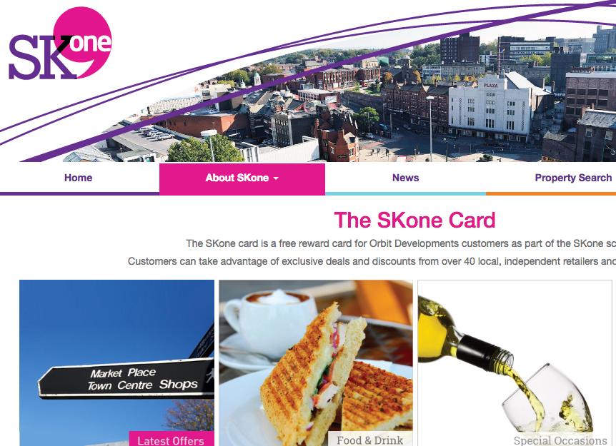 Orbit's SKOne card has over 80 offers for its tenants