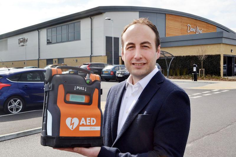 Stockport company save 100 lives at David Lloyd