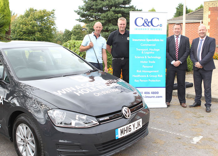 C&C insures Stockport County golf day hole-in-one