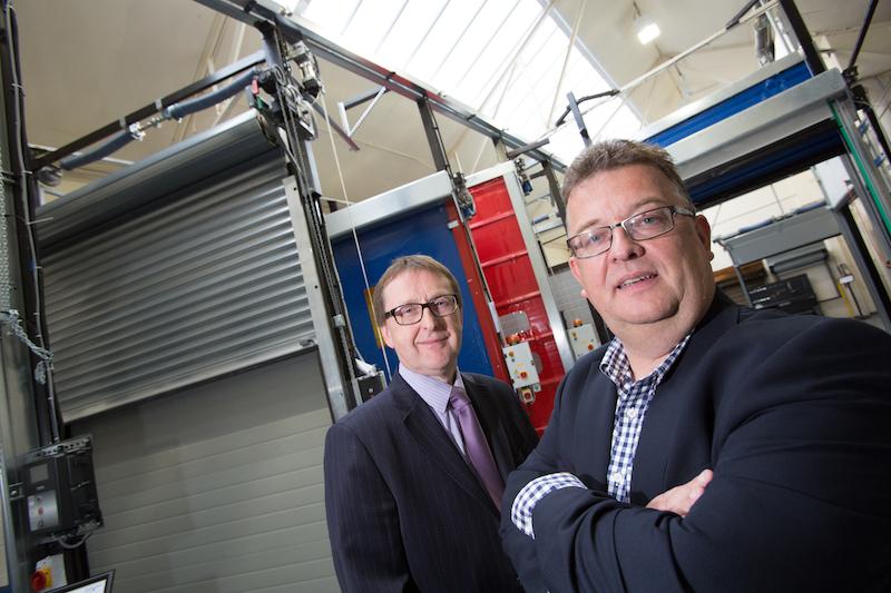 Robin Taylor (Managing Director of Indupart Ltd) and Matthew Young (Royal Bank of Scotland)