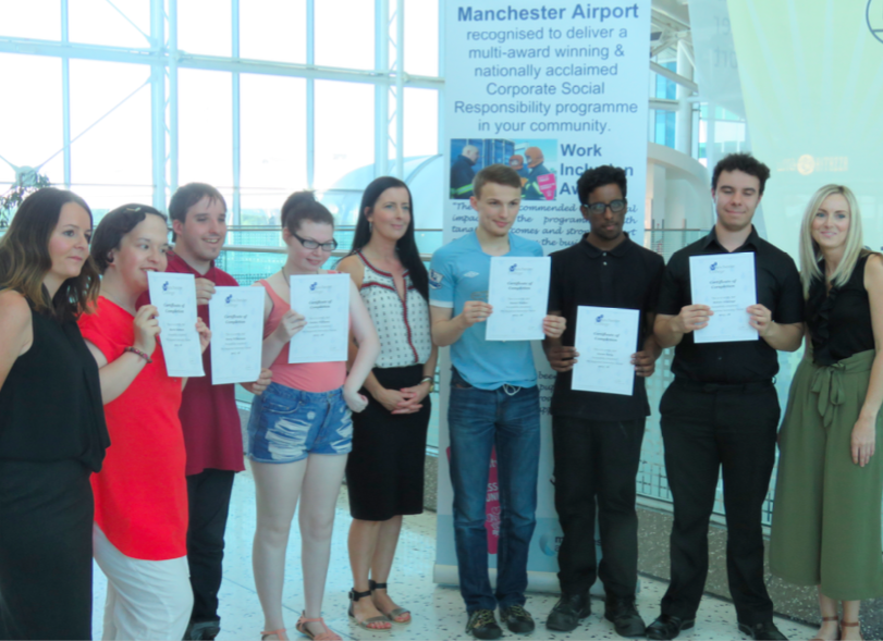 Pure Internships fly high at Manchester Airport