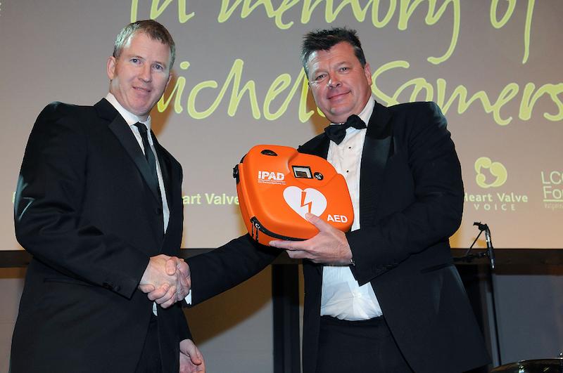 C&C Healthcare donate defibrillator to Lancashire County Cricket Club