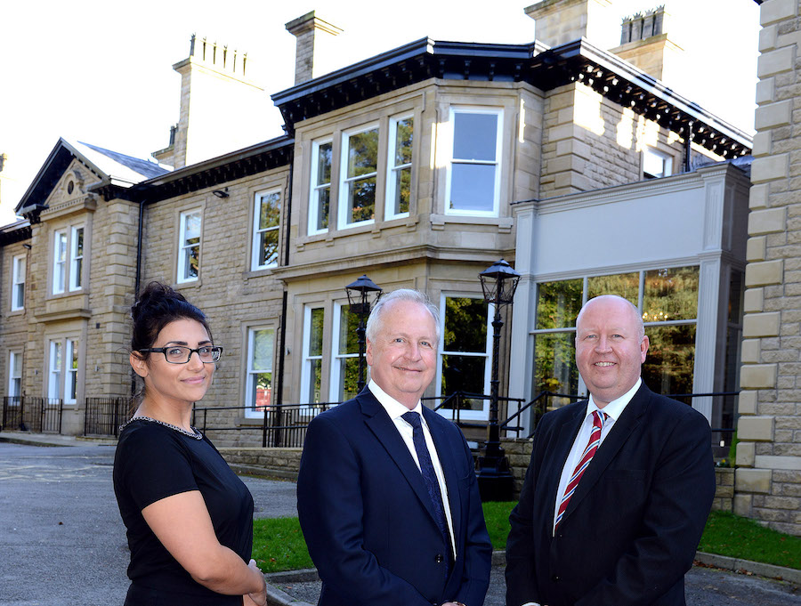 New Care home in Glossop, Regency Hall, supported by RBS