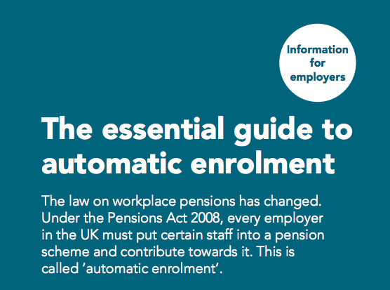 Automatic Enrolment soon to hit 'new employers'