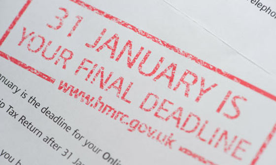 Tax Return deadline looms – don't leave it too late!