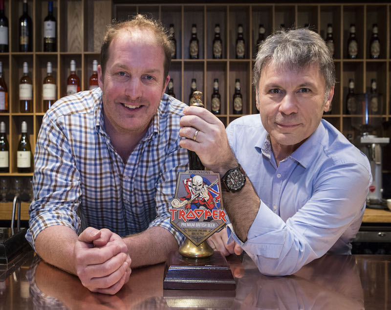 Robinsons and Iron Maiden brew new look for TROOPER beer