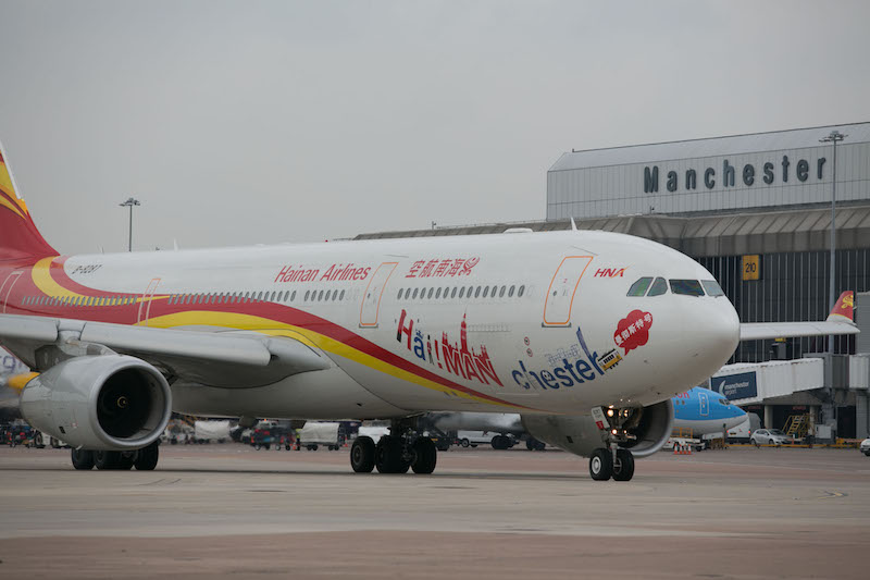 Manchester to Beijing to operate 5 flights per week