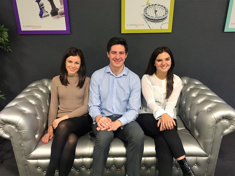 New Year, Newly Qualified accountants at Clarke Nicklin