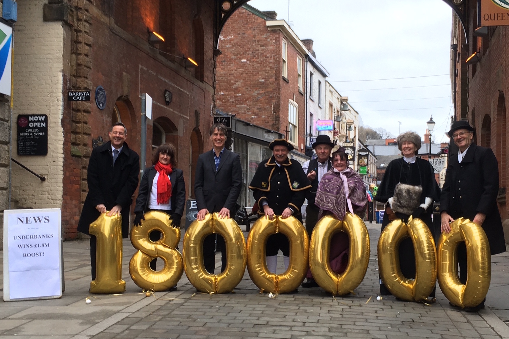 £1.8million funding boost for Stockport's Underbanks
