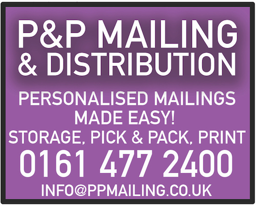 PP Mailing Stockport Advert