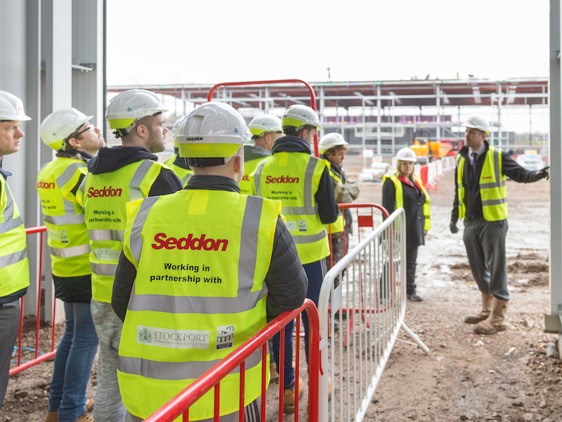 Seddon gets Stockport College construction students industry-ready