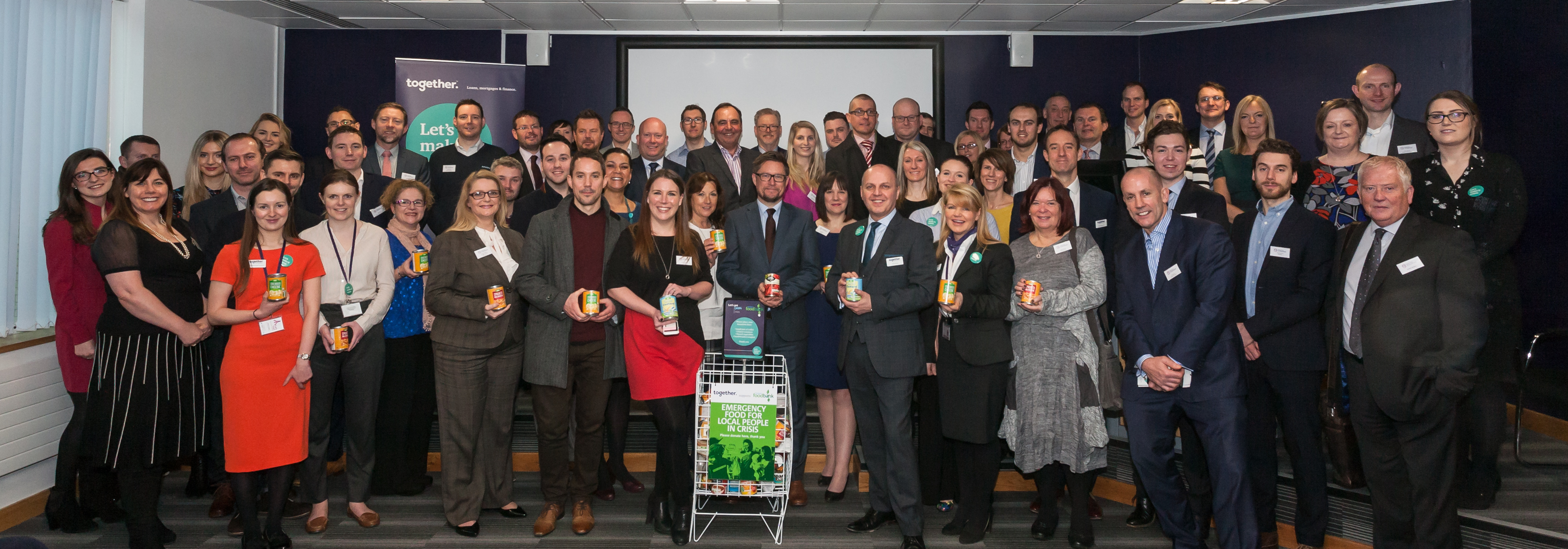 Together Community Foodbank with Marketing Stockport
