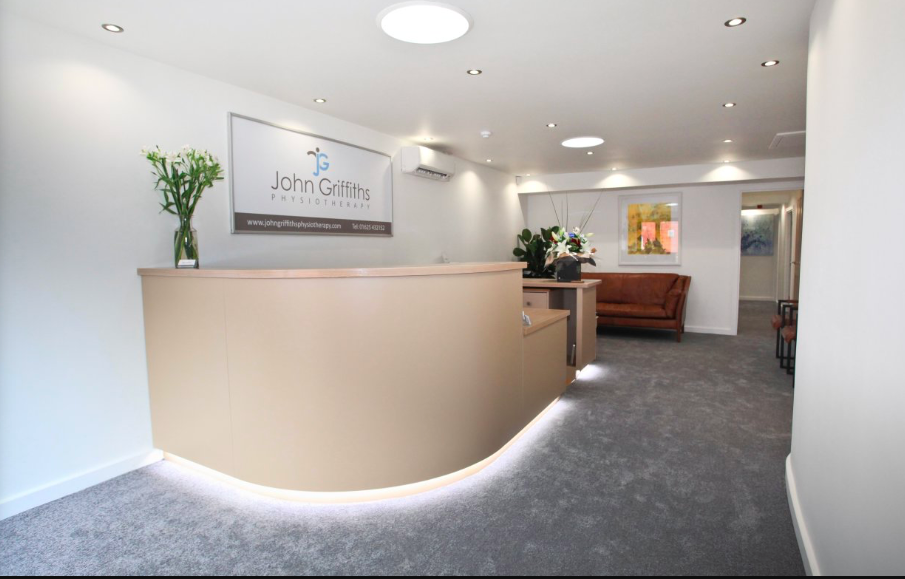 RBS support John Griffiths physiotherapist expansion