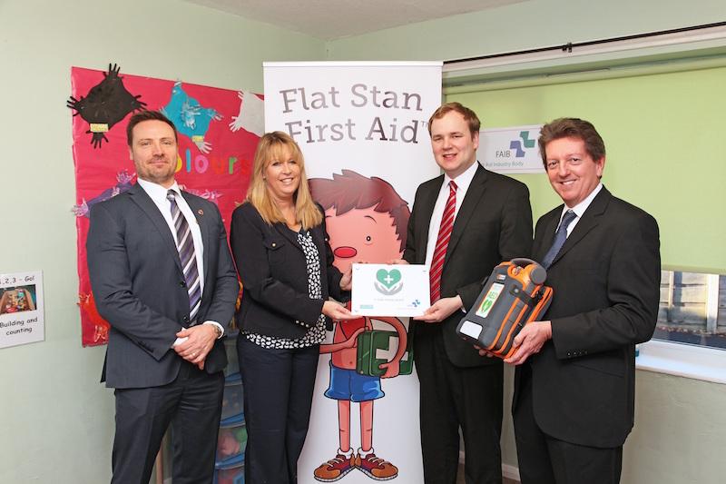 Stockport Nursery 1st for In Safe Hands Award