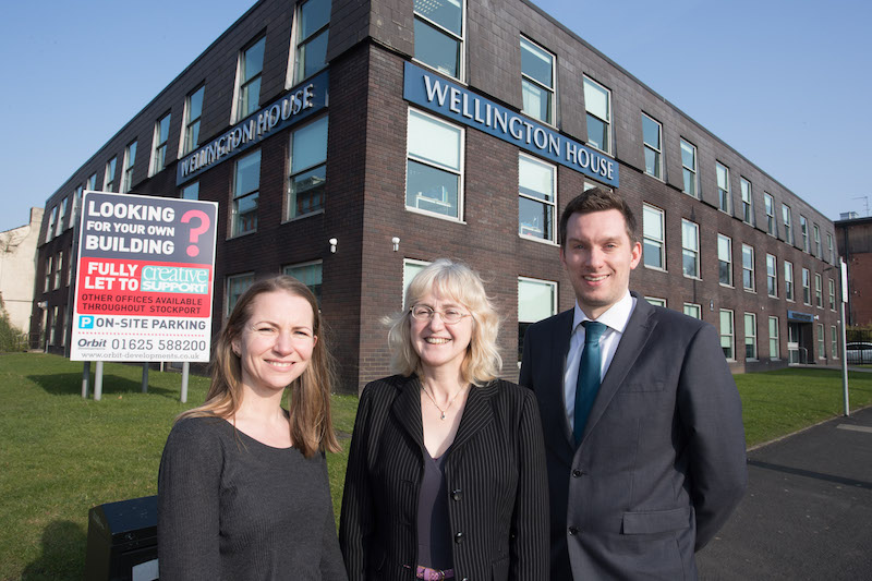 Orbit Developments welcomes Creative Support into Stockport town centre