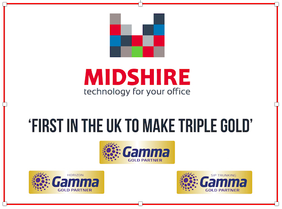 Midshire first in the UK to make Triple Gamma Gold