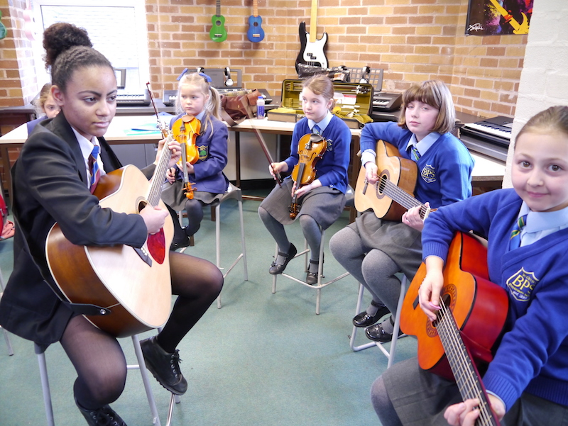 Stockport IT company supports music education project