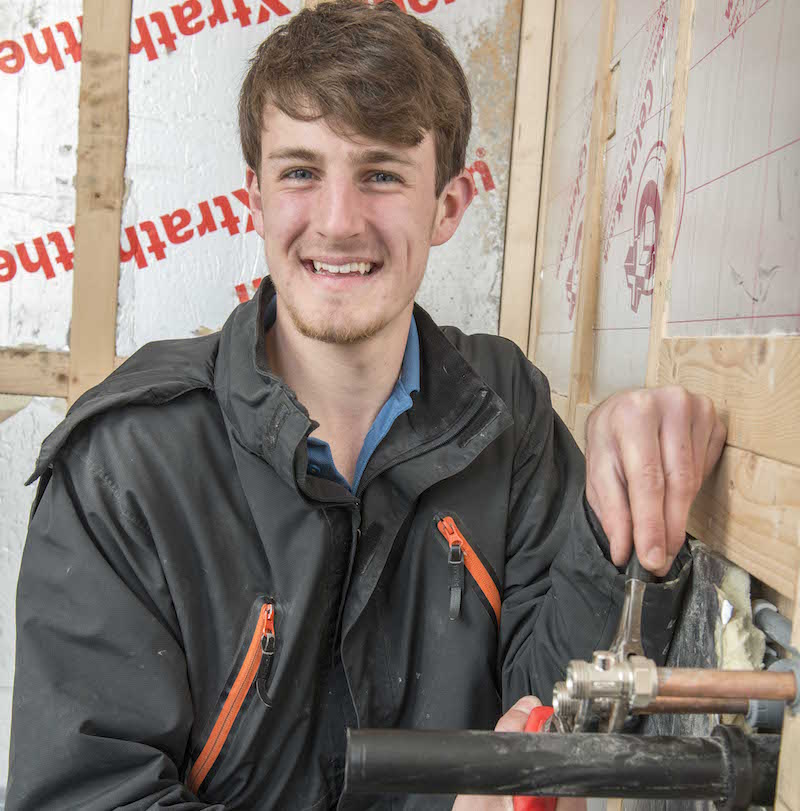 Stockport College apprentice in Screwfix Trade UK final