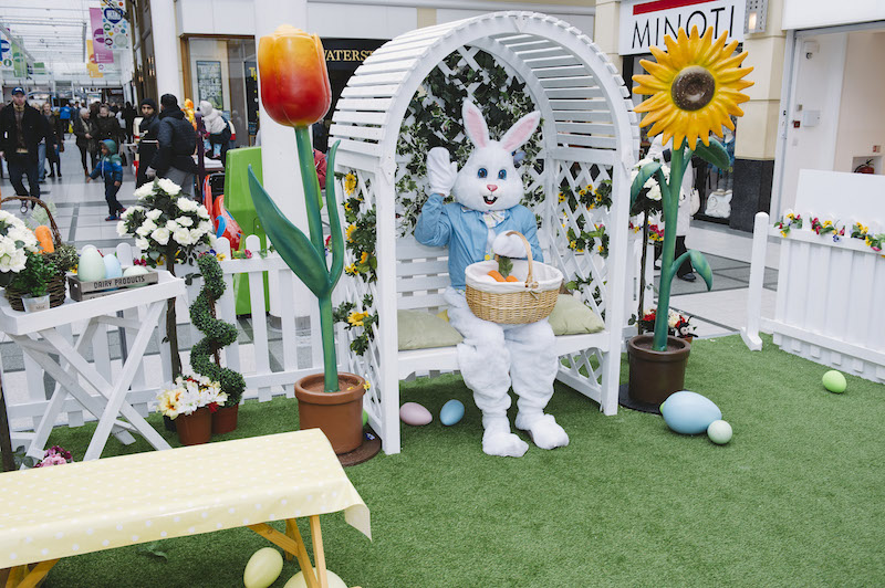 Easter fun at Stockport Merseyway Eggstravaganza