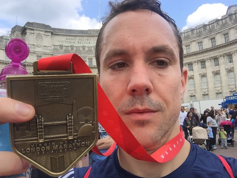 Trust Stuart's London Marathon success