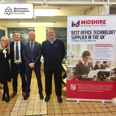 Midshire supports MMU 'Print Tech Day'