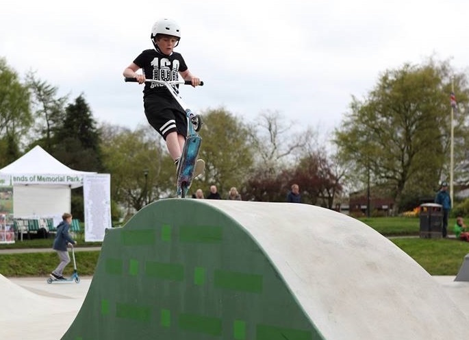 Final funding sees Marple Skatepark spring into action