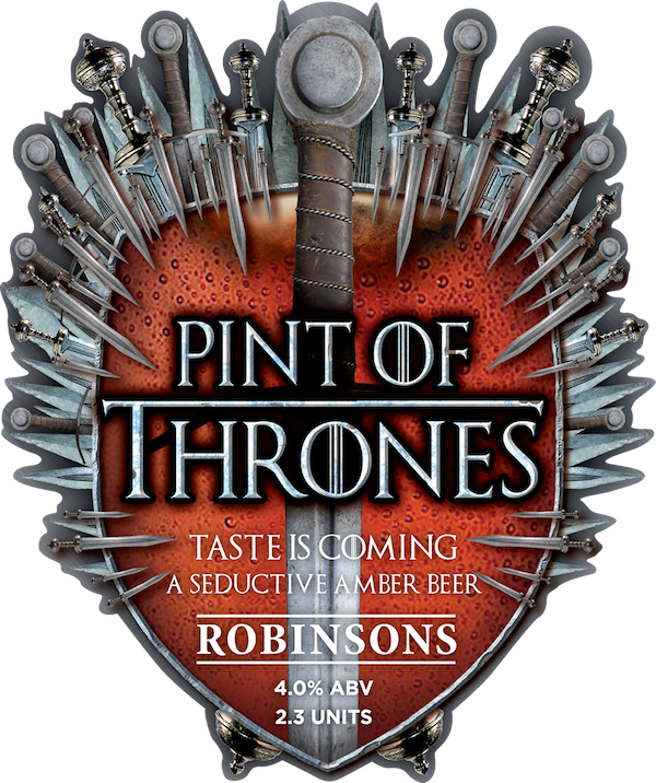 Robinsons Brewery present this season's Pint of Thrones
