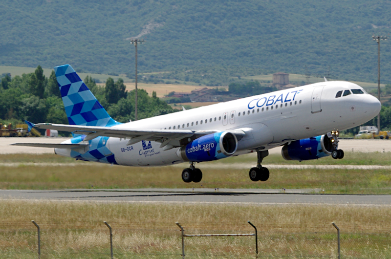 Cobalt Air - more flights Manchester to Cyprus