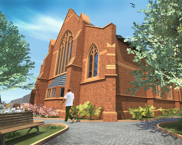 Derelict church to be developed by The Blackmore Group