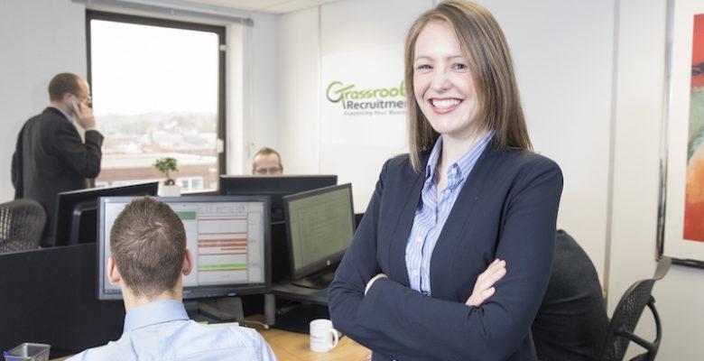 Sparkle2Scale participant Caroline Patten of Grassroots recruitment