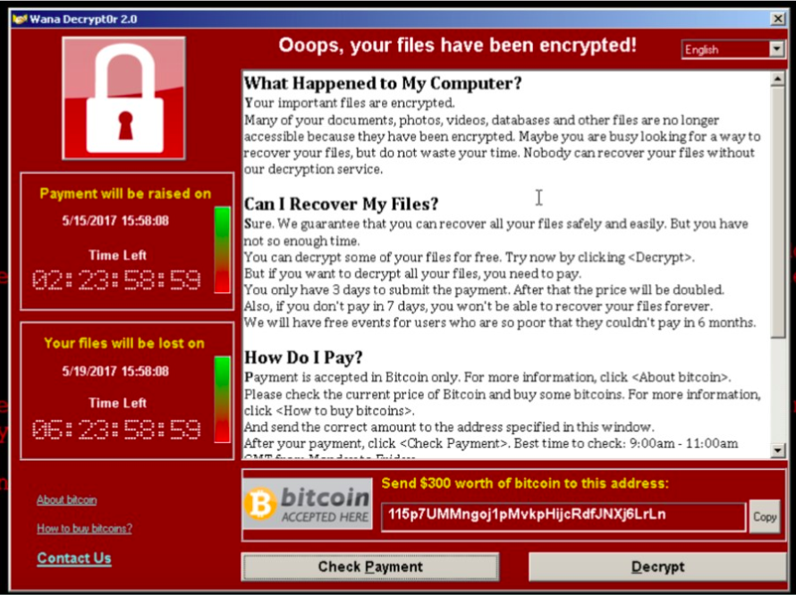 NCSC enters advice following WannaCry ransomware attack