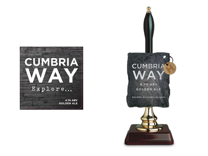 Fresh rebrand for Robinsons Cumbria Way
