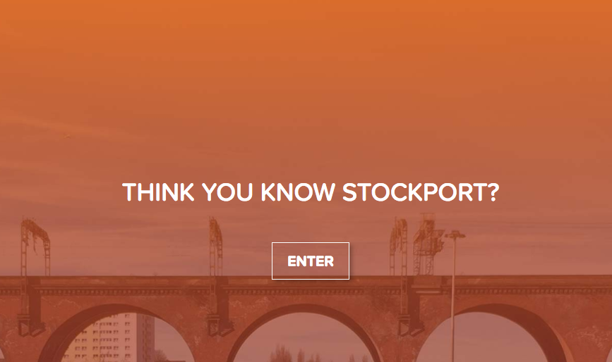 Change Here for Stockport town centre