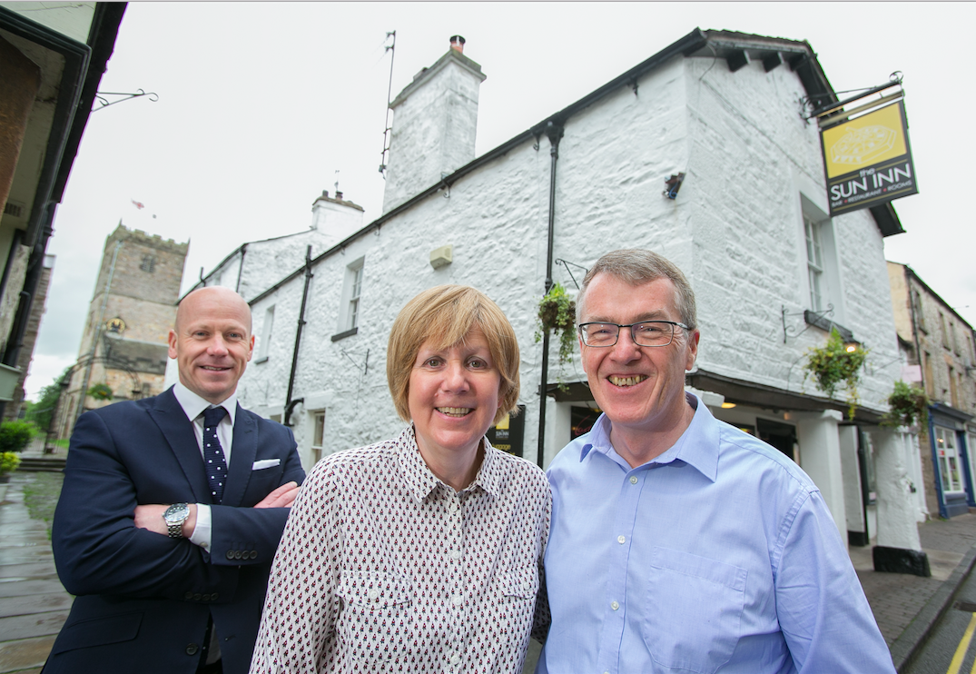 Six-figure RBS backing shines on The Sun Inn