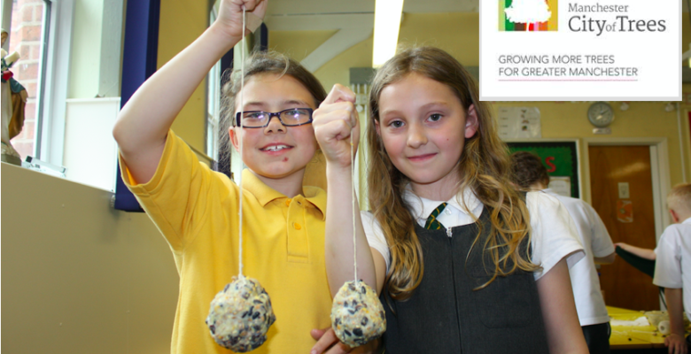 Wates contractors support City of Trees working with local school children