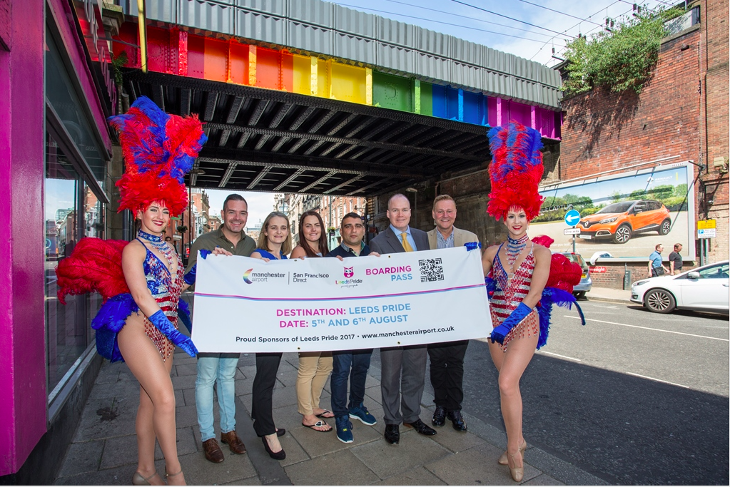 Manchester Airport to Sponsor Leeds Pride