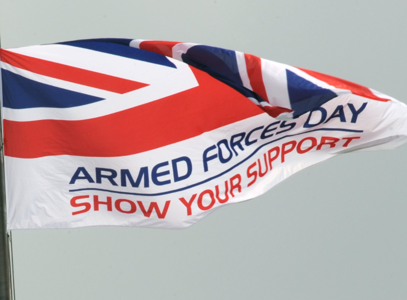 Stockport supporting Armed Forces Day