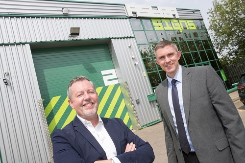 RBS funding supports Manchester graphics company's relocation