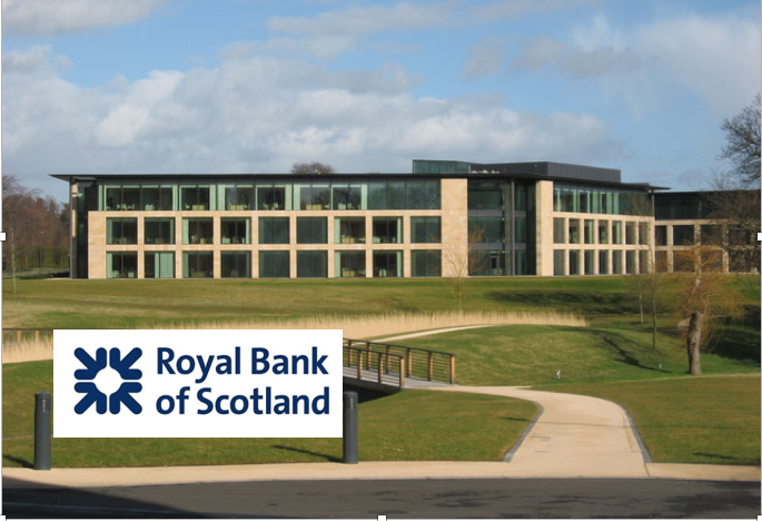 RBS Headquarters are in Edinburgh