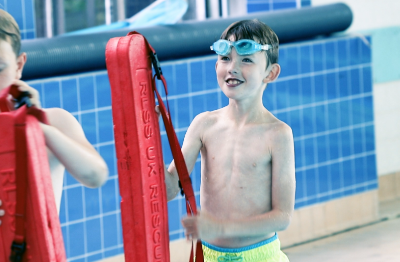 Free kids swim and safety lessons at Life Leisure