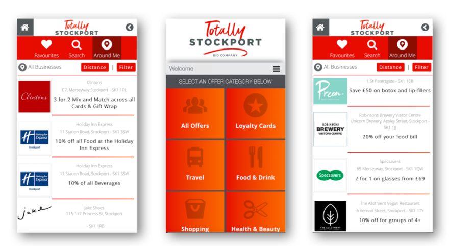 Totally Stockport App offers